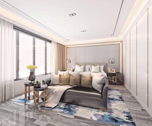 京城豪苑7幢2205居室空间设计