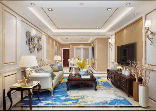 龙湖龙誉城居室空间设计
