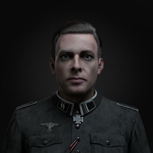 German Soldier Portrait