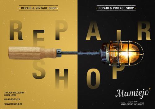 Repair & Vintage Shop